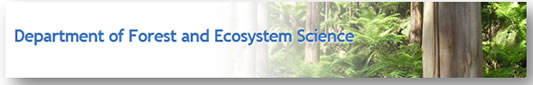 Department of forest and Ecosystem Science - Canberra Private Schools