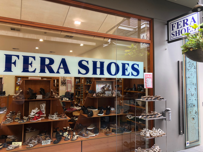Fera Shoes - Canberra Private Schools